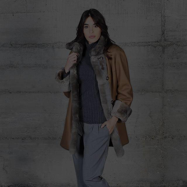 Vêtement en cuir pour femme sur-mesure